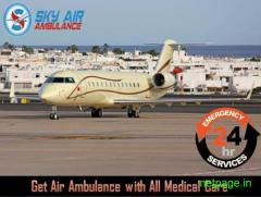 Get Super Developed Air Ambulance in Shimla by Sky Air Ambulance