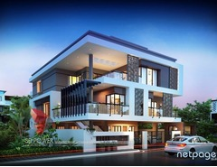 Exclusive 3D Bungalow Rendering & Interior Designing Services by 3D Power