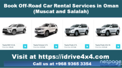 Car Rental Company in Oman