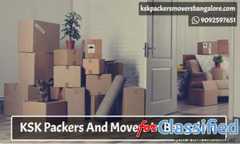 Packers And Movers In Bangalore - kskpackersmoversbangalore.com