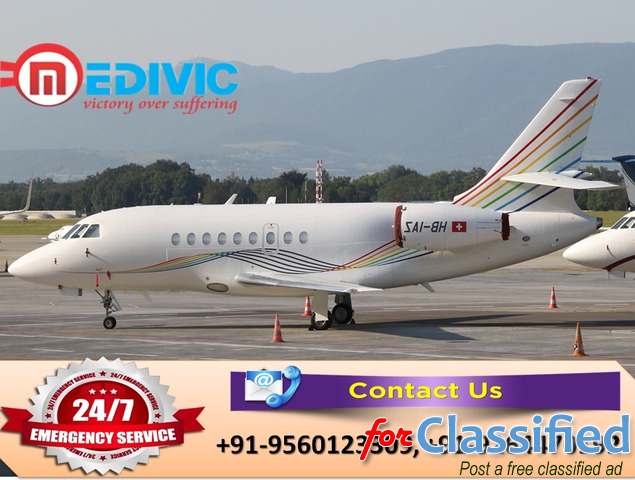 Take the Most Economical Charter Air Ambulance in Bangalore by Medivic