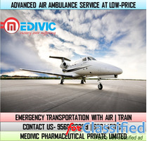 Pick Medivic Air Ambulance Service in Dimapur for Instant Shifting