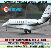Avail Precise Transportation by Medivic Air Ambulance Service in Gaya