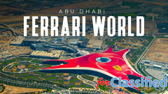 Abu dhabi with ferrari world dubai