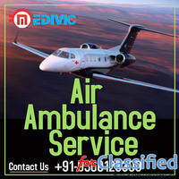Perfect Emergency Support by Medivic Air Ambulance Services in Delhi