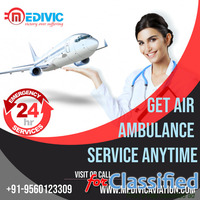 Use Excellent Commercial Air Ambulance Services in Mumbai by Medivic