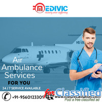 Book Medivic Air Ambulance Services in Patna at Ordinary Price