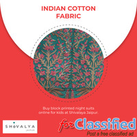 Indian Cotton Fabric