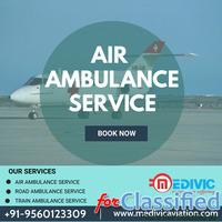Gain Medivic Air Ambulance Service in Delhi with Hi-fi ICU Setup