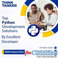Hire Python Developers Mumbai, Pune, Delhi, Bangalore - ThinkTanker