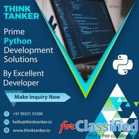 Top Python Development Company Mumbai, Pune, Bangalore - ThinkTanker