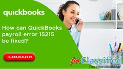 Stuck on Quickbooks Error Code 15215?