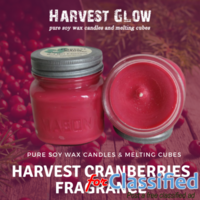 Best Pure Soy Wax Candles Online - Harvest Glow Candles